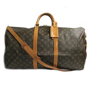 LOUIS VUITTON〈ルイヴィトン〉Keepall Bandouliere 55 Boston Travel Bag Luggage