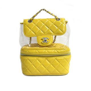 CHANEL〈シャネル〉Matelasse CC backpack rucksack chain bag