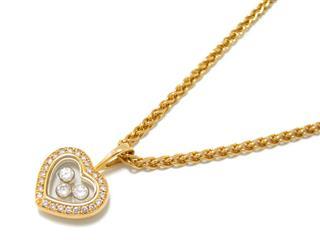 Chopard〈ショパール〉Happy Diamond Icon Necklace