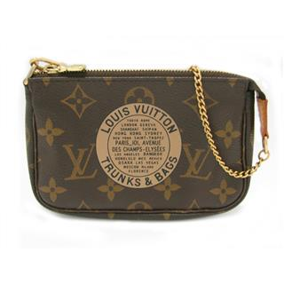 LOUIS VUITTON 〈ルイヴィトン〉 T&B Mini Pochette Mini Accessory Pouch Chain bag