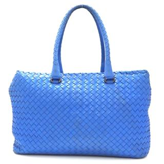 BOTTEGA VENETA 〈ボッテガ・ヴェネタ〉 Intrecciato Boston bag