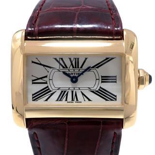 Cartier〈カルティエ〉Tank Divan Wrist Watch