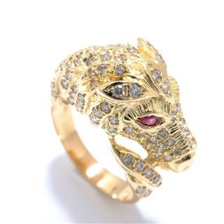JEWELRY〈ジュエリー〉Horse motif diamond ring