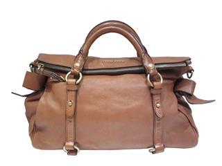 miu miu〈ミュウミュウ〉2way Shoulder Hand bag