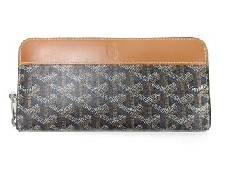 GOYARD 〈ゴヤール〉 GOYARD Zip GM Around Wallet P