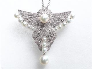 MIKIMOTO〈ミキモト〉Necklace Brooch