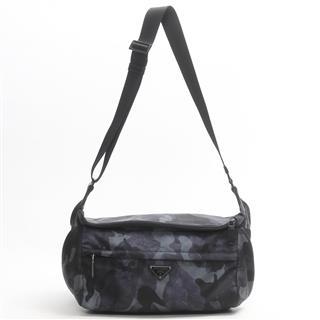 PRADA〈プラダ〉Camouflage bum bag shoulder bag camouflage