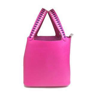 HERMES〈エルメス〉Picotin Lock Tressage MM Hand Tote Bag