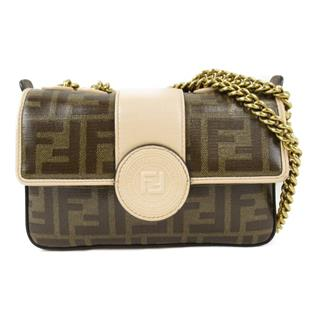 FENDI 〈フェンディ〉 Zucca pattern mini duffle mini shoulder bag