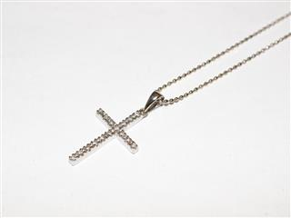 Folli Follie 〈フォリフォリ〉 Cross Motif Necklace