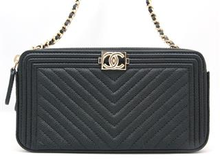 CHANEL 〈シャネル〉 Boy Chanel chainshoulderbag clutchbag