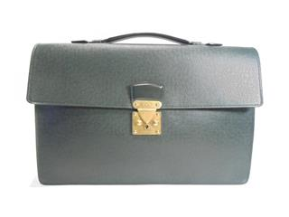 LOUIS VUITTON 〈ルイヴィトン〉 Serviet Clad Business Hand Bag