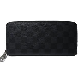 LOUIS VUITTON〈ルイヴィトン〉Zippy Wallet Vertical Brazza round wallet