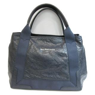 BALENCIAGA〈バレンシアガ〉Navy Cabas S Hand Tote Bag